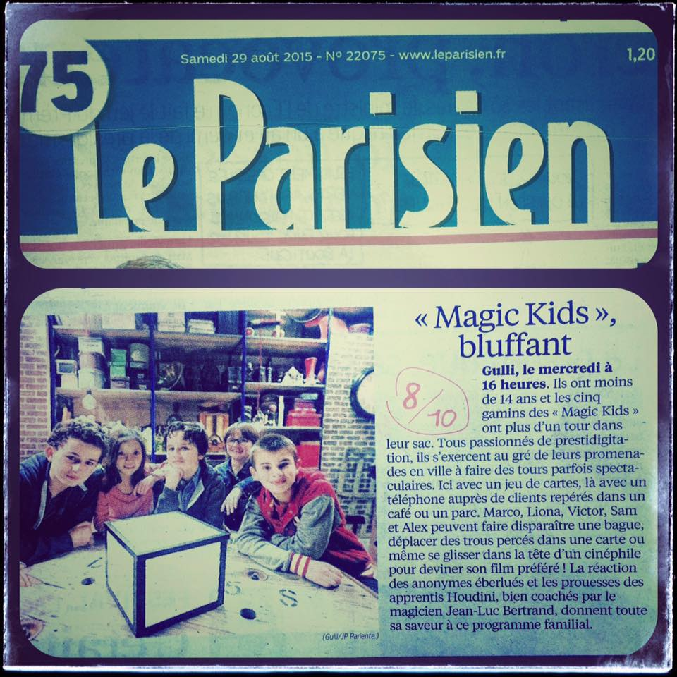 Magic Kids - Le Parisien