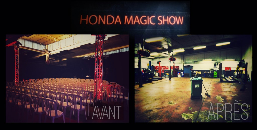 Honda-Magic-Show